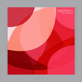 Vector set background Abstract light intensive red on white backgrou Royalty Free Stock Images