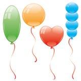 Vector set. Balloons. Stock Photo