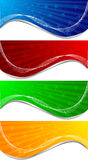 Vector set of banners Stock Image
