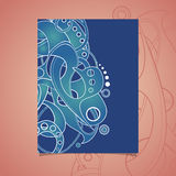 Vector Set of Banners with Abstract Element Royalty Free Stock Photography