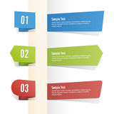 Vector set of banners Stock Photo