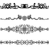 Vector Set Border Design Element Stock Photography