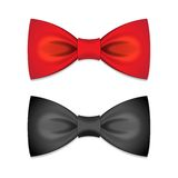 Vector set of  bow ties Stock Images