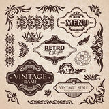 Vector design elements Royalty Free Stock Photos