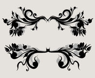 Vector set calligraphic element Royalty Free Stock Image
