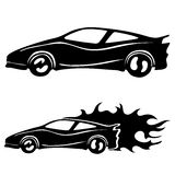 Vector set. Cars. Royalty Free Stock Images