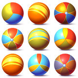 Vector set of children balls Royalty Free Stock Image