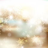 Vector set of Christmas blurred backgrounds for design Stock Image