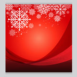 Vector set Christmas red background design Cold. Vector Christmas red background design Cold Stock Photos