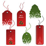vector Set of Christmas tags Stock Photo