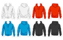 Vector set of clothes Stock Photo