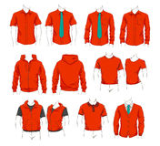 Vector set of clothes Royalty Free Stock Photography