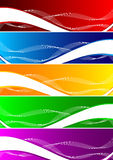 Vector set of colorful background Stock Images