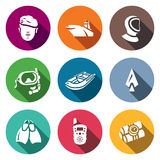 Vector Set of Commandos Icons.  Royalty Free Stock Image