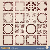 Vector set corners Stock Image