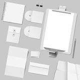 Vector set of corporate template design Stock Photography