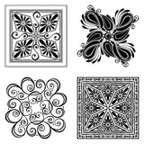 Vector Set of Deco Abstract Elements Royalty Free Stock Image