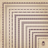 Vector set of decorative corner borders and frames Stock Photo
