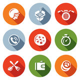 Vector Set of Delivery Icons. Stock Images