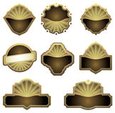 Vector set design elements. Stock Images