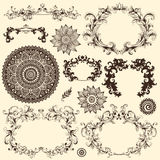 Vector set of design elements Stock Photos