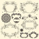 Vector set of design elements Royalty Free Stock Photo