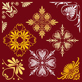 Vector set of design elements Royalty Free Stock Photography