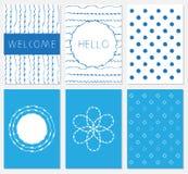 Vector set of design templates vector illustration