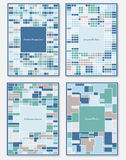 Vector set of design templates Stock Photo