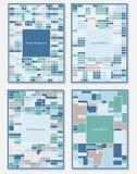 Vector set of design templates royalty free illustration