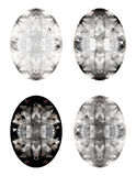 Vector set of diamonds  Stock Photos