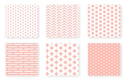 Pattern Set stock illustration