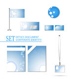 Vector set of document and corporate identity template Stock Photo