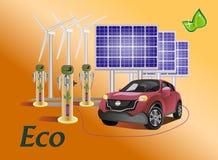 Vector set eco Royalty Free Stock Photo