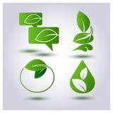 Vector set environmental protection Royalty Free Stock Photos