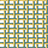 Vector set with four seamless patterns. Stock Image