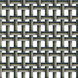 Vector set with four seamless patterns. Royalty Free Stock Photo