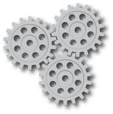 Vector set. Gear, cog, sprocket, wheel Stock Image