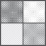 Vector set: geometric patterns Royalty Free Stock Photos