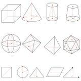 Vector Set of Geometrical Shapes vector illustration