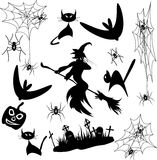 Vector Set Halloween Stock Images