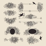 Vector set: hand drawn Stock Photography