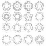 Vector set of hand drawn Stock Photography