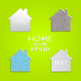 Vector set of houses. Stock Image