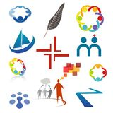 Vector set of icons... Stock Images