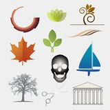 Vector set of icons... Stock Image