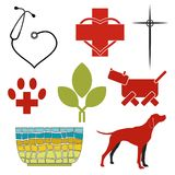 Vector set of icons... Royalty Free Stock Image