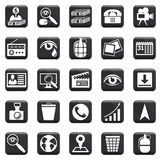 Vector Set Of Icons. Vector set of business icons, symbols and pictograms Stock Photos