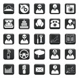 Vector Set Of Icons Stock Photo