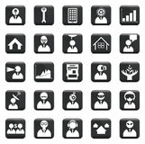 Vector Set Of Icons Stock Photography